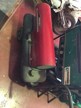 Calentador gasoil/electrico