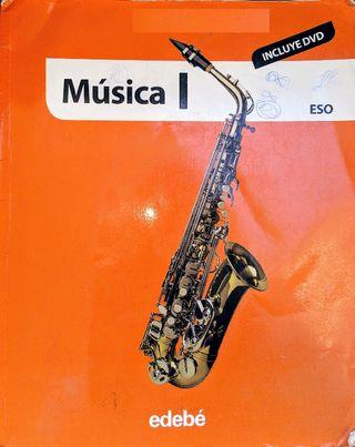 Libro + Cuaderno Música 1° ESO (Usado)