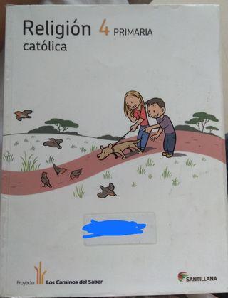 libro de texto religión