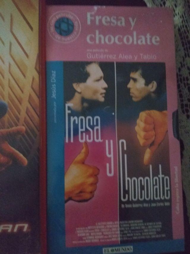 fresa y chocolate.VHS