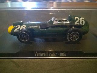 Vanwall VW57 escala 1/43 F1 1957