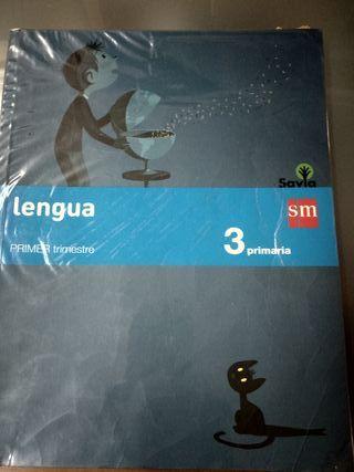 Libro texto 3 primaria Lengua SM