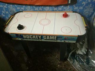 Juego de hockey de aire