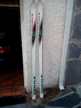 esquí 1,80cm