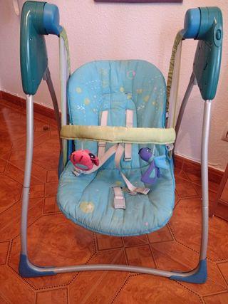 hamaca balancín para bebé