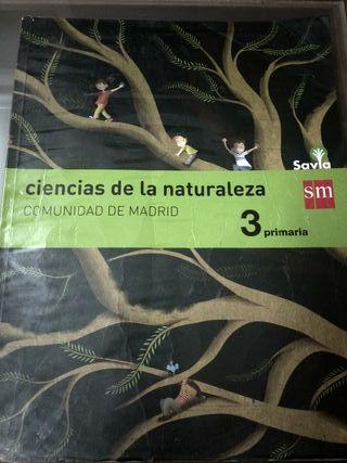 Libro texto 3 primaria ciencias de la naturaleza