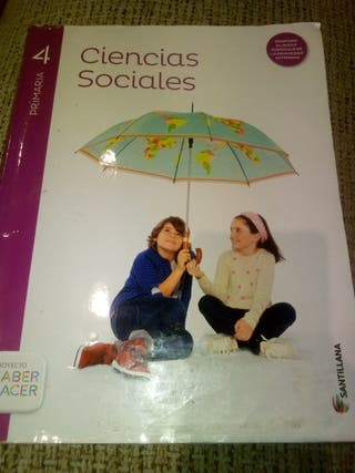 libro 4 primaria Ciencias Sociales