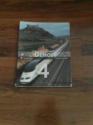 libro de sociales de 4 de la eso