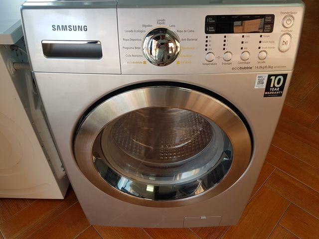 Lavadora Secadora Samsung Gris 14 kilos GARANTIA