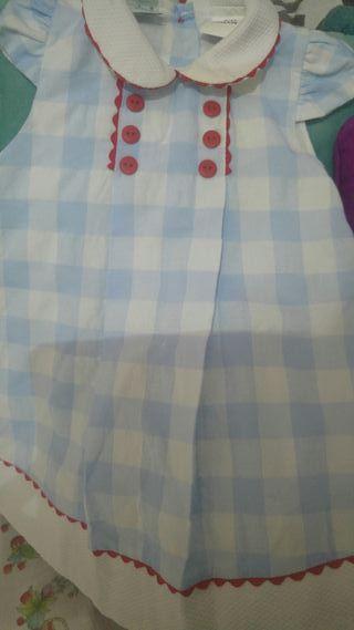 vestido bebe 6 ms