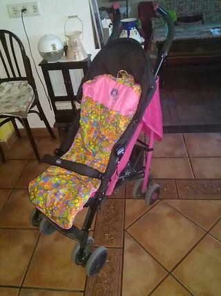 silla de paseo carro niña infantil