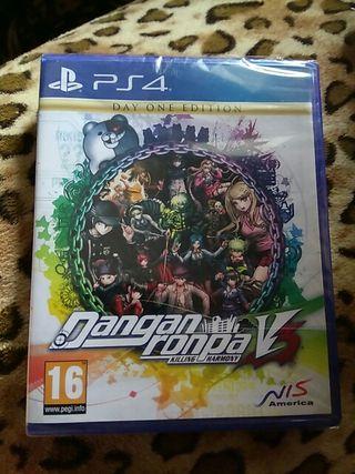 Juego PS4 Dangan ronpa V3 (killing harmony) NUEVO!