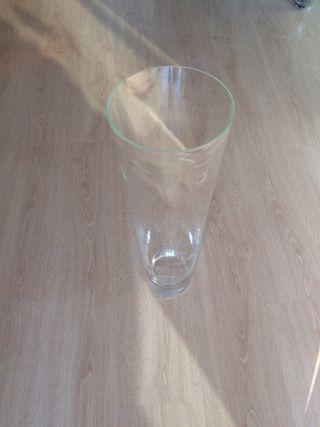 Jarrón/ florero de cristal para orquídeas