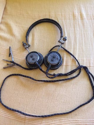 Auriculares antiguos años 20-30