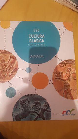 Libro cultura clasica 3 ESO