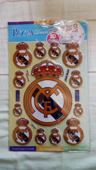 Stickers 3D Foam Real Madrid