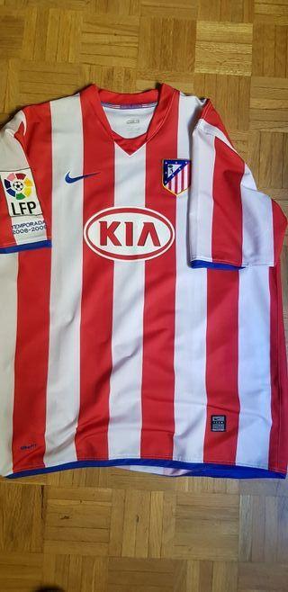 Camisetas atletico de segunda mano en Madrid en WALLAPOP 6e7394e562214