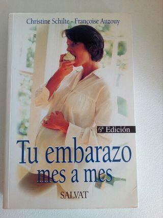 libro tu embarazo mes a mes