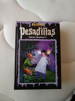 "Libro ""Pesadillas"" edición Monstruo 9"