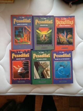 """Lote de libros """"Pesadillas"""""""