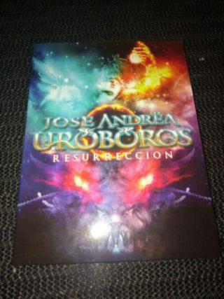 CD José Andrëa UROBOROS (Resurrección)