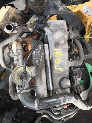 motor HDBX bomba rota
