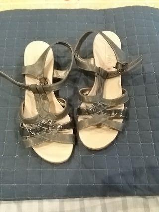 Sandalias azules t 39