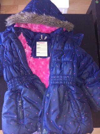 Abrigo invierno niña