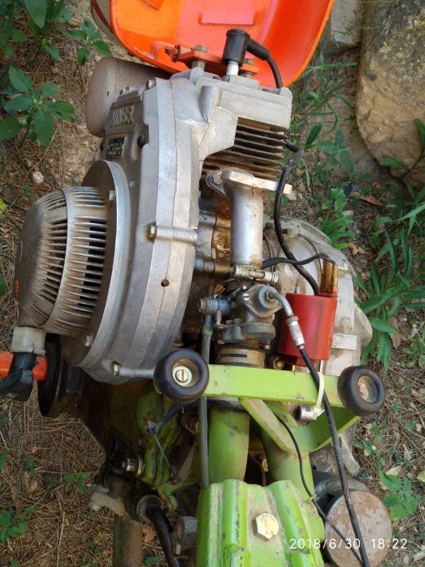 Motocultor agria con remolque de segunda mano por 550 en - Motocultor segunda mano ...