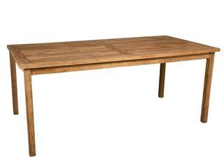 Mesa de madera de teka