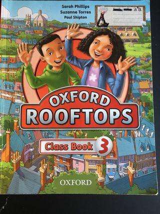 Libro escolar: OXFORD ROOFTOPS - class book 3