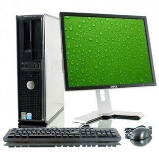 Ordenador y pantalla Dell