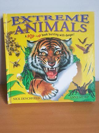 Libro 3D Extreme Animals