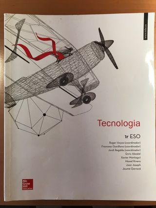 Llibre Tecnologia 1r ESO ISBN 978-84-481-9559-5
