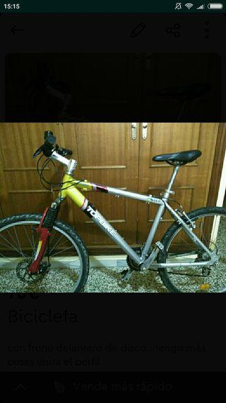 bicicleta cuadro m rueda 26