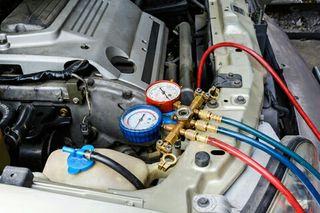 carga de aire acondicionado para coches