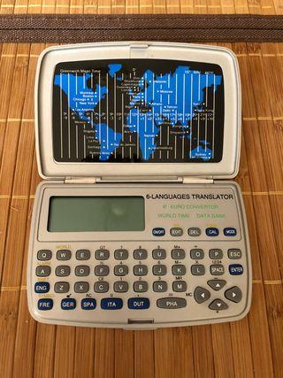 Traductor electronico portatil