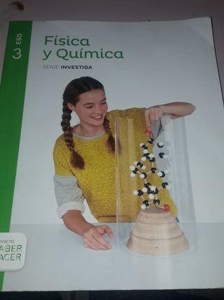 Libro escolar Física y Química 3ESO