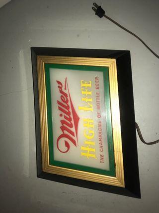 Cuadro traído de EEUU cerveza