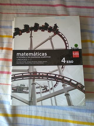 Libro matemáticas académicas