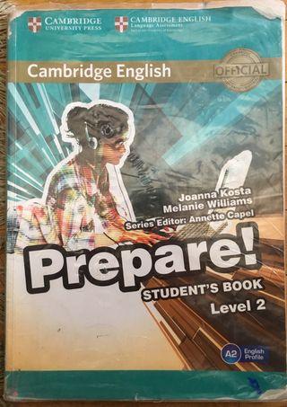 1 ESO CAMBRIDGE ENGLISH PREPARE! Student book L2