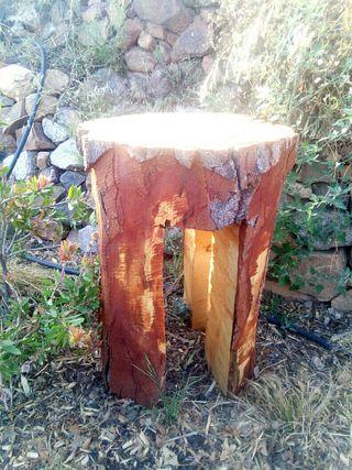 mesa de pino natural