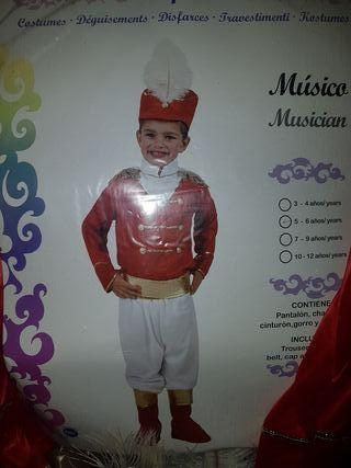 Disfraz músico niño