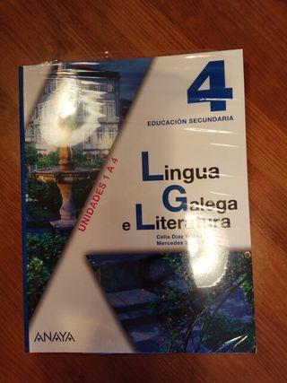 Lingua Galega e Literatura 4° ESO
