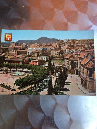 Postal Plaza de España Manresa