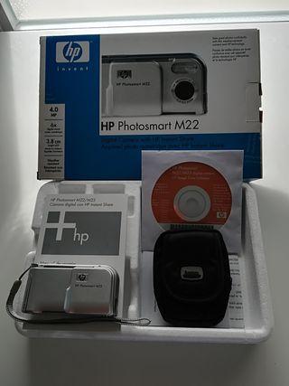 Cámara Digital HP Phostomart M22