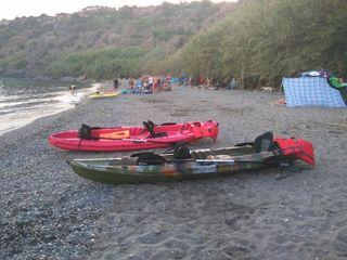 kayak 2+1 alquiler día completo o 1/2 dia 3€/h/per