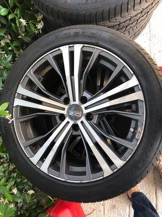 Neumáticos mas llantas