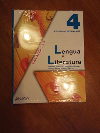Lengua y Literatura 4° ESO