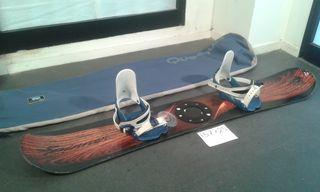 TABLA SNOWBOARD QUECHUA + FIJACIONES